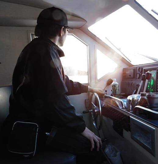 海上タクシー 川西マリンサービス 代表 川西 孝明