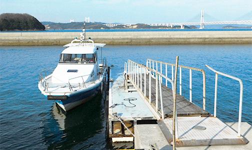 笠島港海上タクシー乗り場