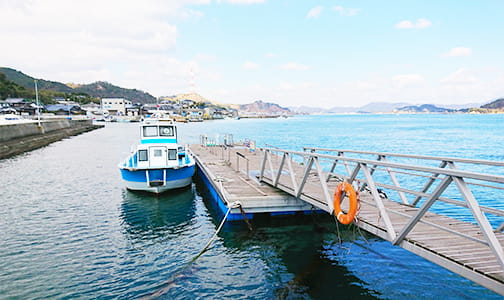 本村港海上タクシー乗り場