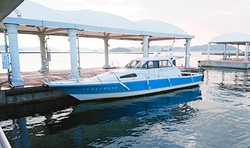 宇野港海上タクシー乗り場