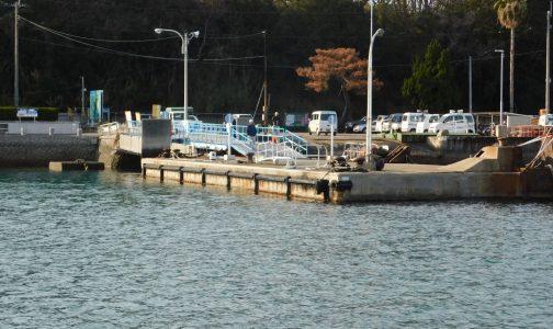 本島港海上タクシー乗り場
