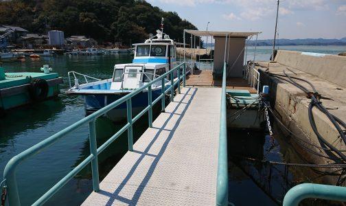 石島(井島)海上タクシー乗り場