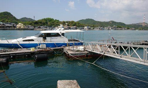 向島(直島諸島)海上タクシー乗り場