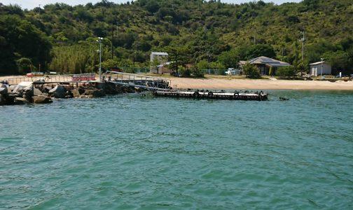 直島釣り公園海上タクシー乗り場